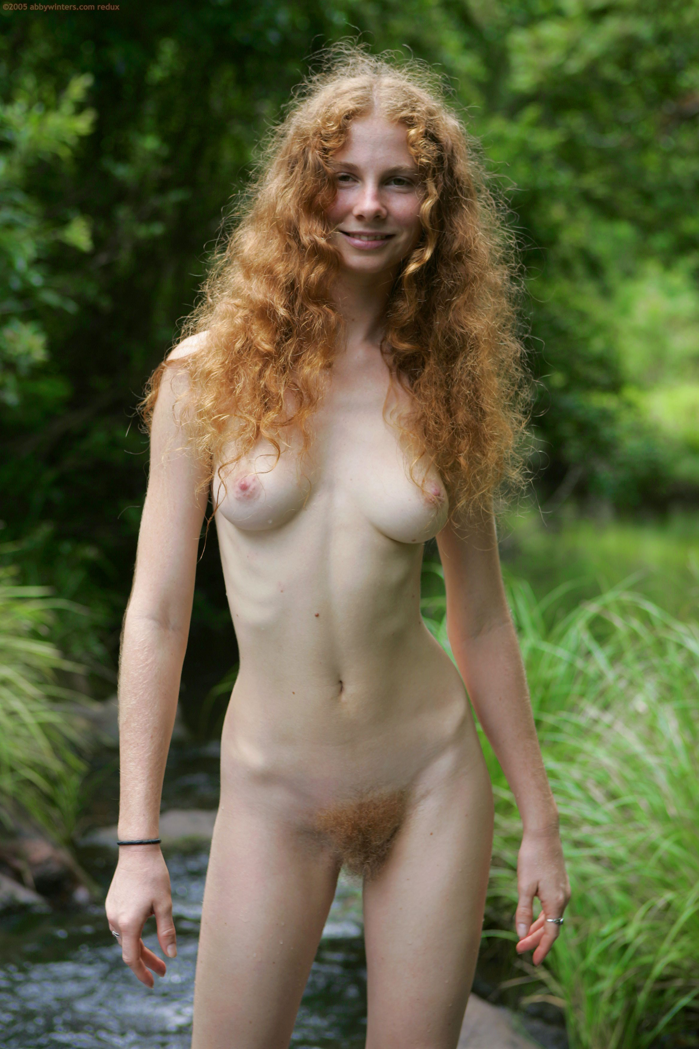 Natural pubes redhead reality