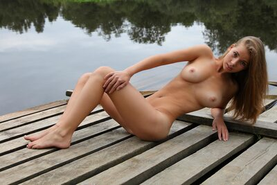 Изображение помечено: Brunette, Boobs, Cute, Goddess Nudes, Marya, Nature, Piercing