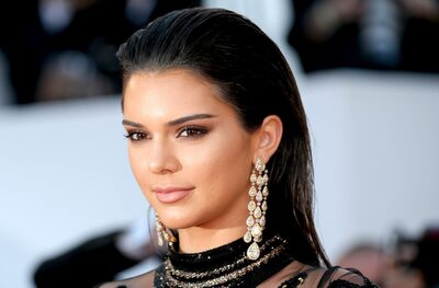 Изображение помечено: Brunette, Celebrity - Star, Face, Kendall Jenner, Safe for work