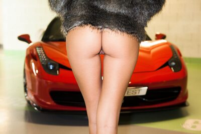 Изображение помечено: Watch4Beauty, Blonde, Ferrari, It would be a ride, Katya Clover - Mango A