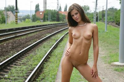 Изображение помечено: Watch4Beauty, Brunette, Cute, Little Caprice, Piercing, Small Tits, Tummy